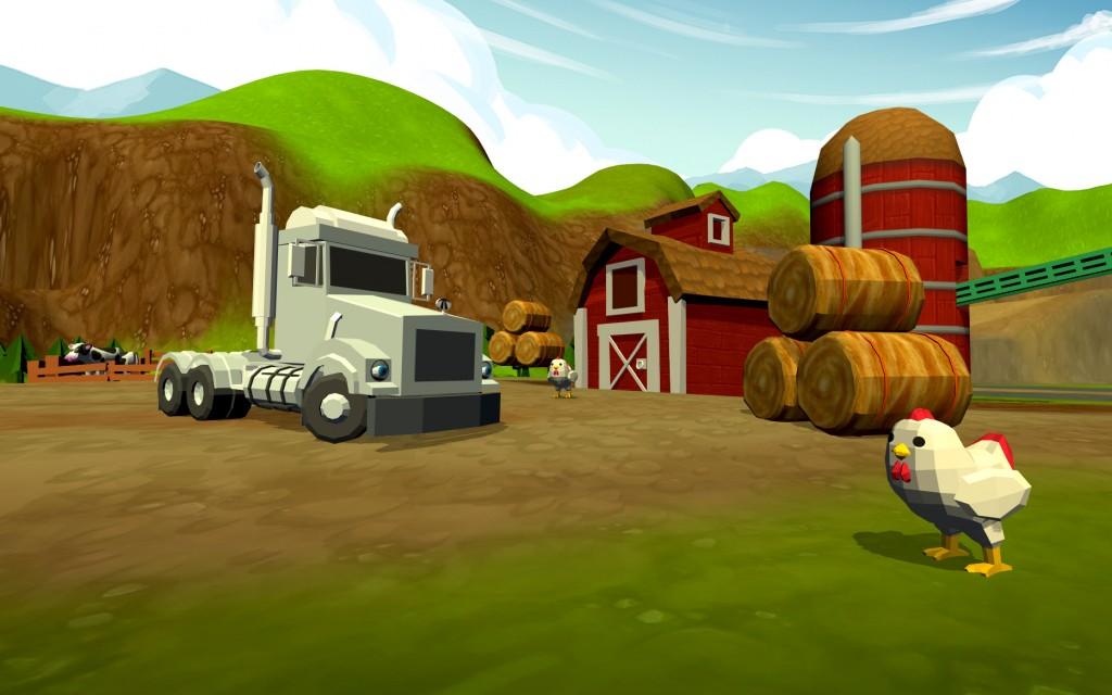Teriffic Trucks game